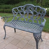 Hummingbird Aluminum Garden Bench