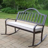 Rochester Metal Garden Bench