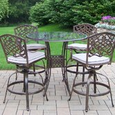 Hummingbird Mississippi 5 Piece Swivel Bar Set