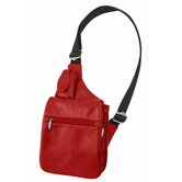 Leather Expandable Messenger Shoulder Bag