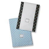 Baby Burpies&reg; in Pastel with Brown Polka Dots (Set of 2)