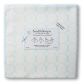 Organic Ultimate Receiving Blanket&reg; in Pastel Mod Circles on Ivory