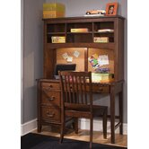 Chelsea Square Bedroom Student Desk Hutch