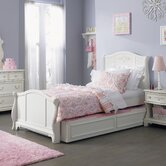 Arielle Bed in Antique White