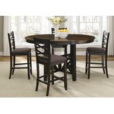 Bistro II 5 Piece Counter Height Dining Set