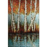 Aspen Grove Canvas Art