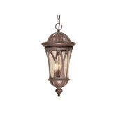 "Cambria 9"" Outdoor Pendent in Royal Bronze"