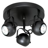 Pixie 3 Light Semi Flush Mount