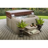 Lifesmart Rock Solid Simplicity Plug and Play Spa w/12 Jets Includes FREE Energy Savings Value & Performance Package