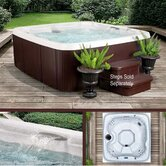 DLX Series 2 Rock Solid Hydromaster 7 Person Spa with 40 Jets
