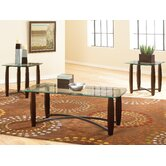 Melrose 3 Piece Coffee Table Set