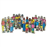 Multi-Cultural Family Figures Kit