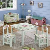 Little Farmhouse Kids' 3 Piece Table and Chair Set
