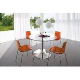 Planet Dining Set With 4  Ice Chairs and Optional Barstool