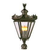 Corsica Four Light Outdoor Pier/Post Mount in Bronze