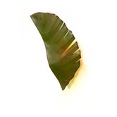 Recycled Banana Leaf Sconce