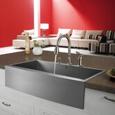 36&quot; Stainless Steel Farmhouse Kitchen Sink Set