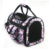 Pet Carrier in Pink Camouflage