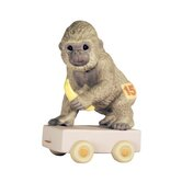 """Birthday Train It's Your Birthday Go Bananas"" Gorilla Figurine"