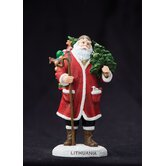 &quot;Lithuania&quot; Lithuania Santa Figurine
