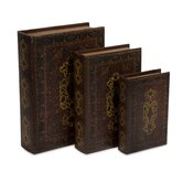 3 Piece Boniface Book Box Collection Set