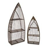 2 Piece Nesting Boat Shelf Set in Neutral