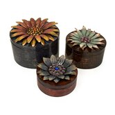 Felicity Dimensional Flower Storage Box (Set of 3)