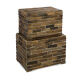 Moreton Wood Chests (Set of 2)