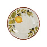 Laurie Gates Lemon Chatta Dinner Plates (Set of 4)