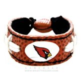 NFL Team Leather Classic Wristband