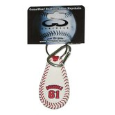MLB Player Leather Key Chain