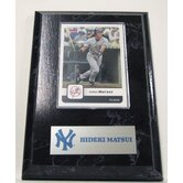 MLB PLQBBNYYHM Card Plaque - New York Yankees