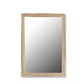 Euro Decor Mirror in Silver