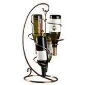 Tendril Cable 4 Bottle Tabletop Wine Rack