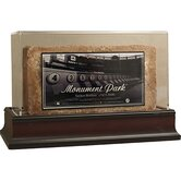 Yankee Stadium Monument Park Brick with Photo Nameplate