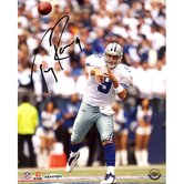 Tony Romo Home Passing Vs. Giants Autographed