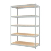 "1500 Series 72"" H Five Shelf Shelving Unit"