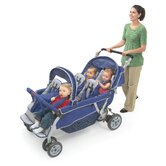 SureStop Folding Bye-Bye 6-Passenger Tandem Stroller