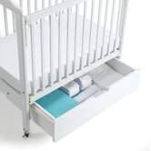 Crib Drawer in White