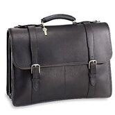 University Oversized Triple Gusset Flap Over Briefcase