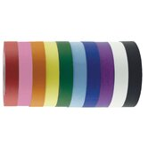 1&quot; x 60 Yards 10 Pack of Assorted Color Kraft Tape Rolls