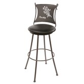 "Parsley 25"" Swivel Counter Height Barstool"