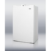 "34.25"" x 19.63"" Refrigerator Freezer in White"
