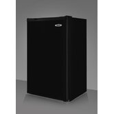 34.25&quot; x 19.36&quot; Refrigerator Freezer in Black