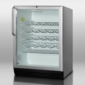 Wine Cellar with Automatic Defrost in Stainless Steel