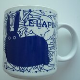 Vintage French 11 oz. Le Lapin (Rabbit) Mug