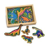 Magnetic Dinosaurs in a Box