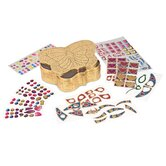 Butterfly Treasure Box Peel and Press Sticker by Number