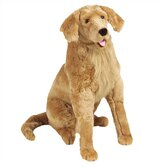 Large Golden Retriever Plush Stuffed Animal