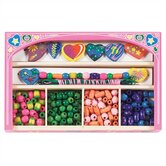 Sweet Hearts Wooden Bead Set Arts &amp; Crafts Kit